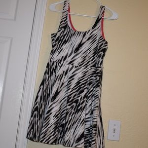 Zebra Print Medium Dress